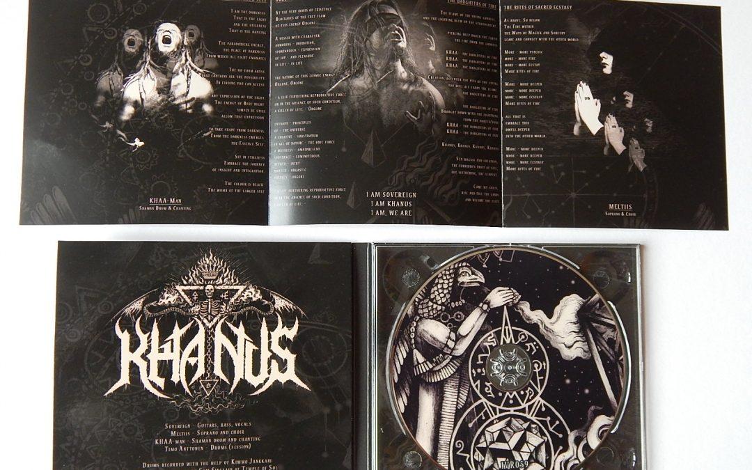 "KHANUS ""Rites Of Fire"" Digipak CD out now!"