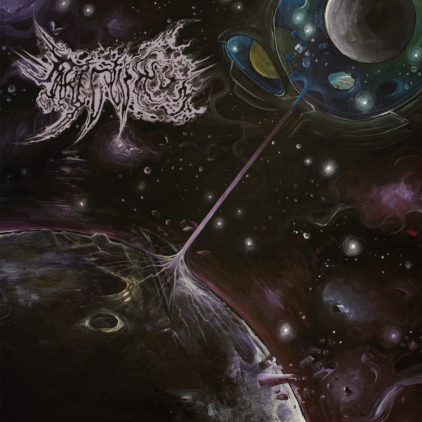 Luminiferous Aether: cosmic space black metal stretched too wormhole